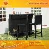 Modern wine bar cabinet GL-R500