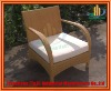 New Design Pe Rattan Garden Chairs