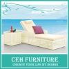 New design wicker adjustable recliner chair