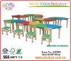 OEM Solid Wood Kindergarten Preschool  Furniture Table and Chairs