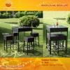 Outdoor rattan bar table GL-R501