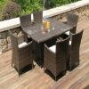 PE Rattan outdoor garden furniture