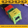 Plastic Foldable Travel Stool