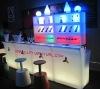 Plastic bar counter/led bar table/led furniture GR-PL15
