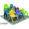 Plastic desk,children chair (LT-0154A)