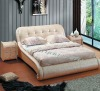 Popular leather bed A2208