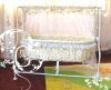 Popular & practical baby swing cot with mosquito net