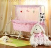Practical electric swing kid crib with MP3 music player
