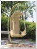 Rattan glider chair