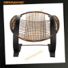 Rattan wood dining chair