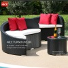 Red cushion, NS122904, outdoor furniture2012
