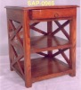 SIDE TABLE WITH 1 DRAWER & 1 SHELVE