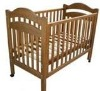 Solid Wood Baby Cirb/wooden baby bed/baby cot