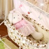Sound control  baby cot with MP3 Player