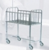 Stainless steel baby-bed