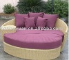 Synthetic wicker bed