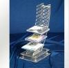 Transparent Acrylic CD Rack,Acrylic CD Display,Acrylic CD Holder