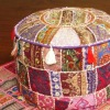 Wholesalers Bohemian Antique Patchwork Ottomans