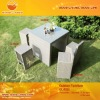 Wicker outdoor bistro set GL-R502