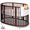 Wooden Baby Bed LEC-011