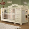 Wooden Baby Bed LEC-017