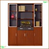 Wooden storage cabinet with glass door FHF1606