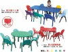 XF-80555  children study  tables and chairs set