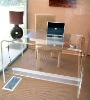 acrylic living room office desk