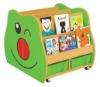 aninal design bookcase