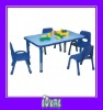 antique school table