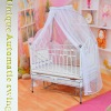 attractive design&automatic swing baby bed/cot