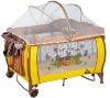 baby cot bed new design EN716 high quality aluminium tube