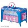 baby crib with attractive drawings