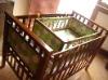 baby crib,wooden crib