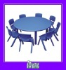 black kids table and chairs