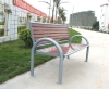 boulevard used antique metal bench