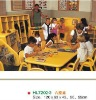 child fireproof material table