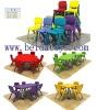children chair /plastic chair made Import LLDPE BD-M304-4