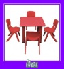 childrens pink table and chairs