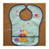 colorful printing baby bibs with binding