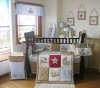embroidery baby bedding set for boys