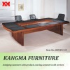 executive rectangular wooden conference table M51#
