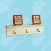 hook shelf, wooden shelf, wood shelf