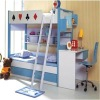 hot sell MDF children bunk bed