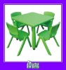 kids wood activity table