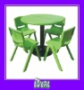 kids wood table chair set