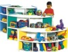 kids wooden toy shelf
