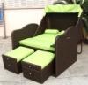 leisure rattan wicker outdoor garden furniture beach basket