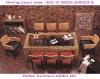 modern dining sets/restaurant furniture