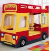 modern kids bus bunk bed